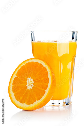 canvas print picture Orange juice