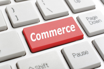 Commerce on keyboard
