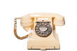 Fifties GPO vintage ivory telephone