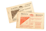British motor fuel ration books
