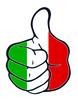 Daumen hoch für Italien