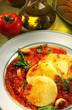 polenta et sauce tomate au basilic 2