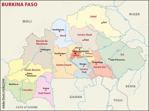 Burkina Faso Administratif