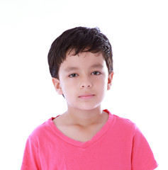 child looking
