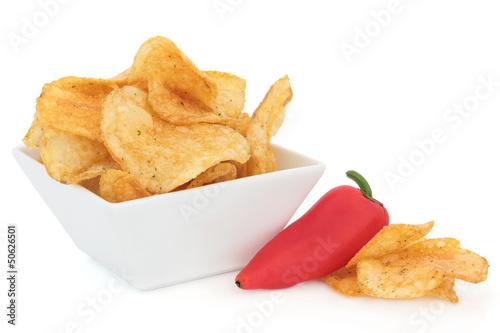 Chili Potato Crisps
