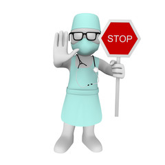 3d doctor says: stop!