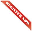 étiquette bordure register now