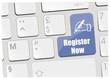 clavier register now