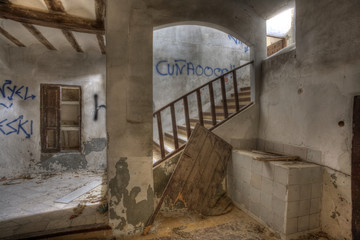 Abandoned convent