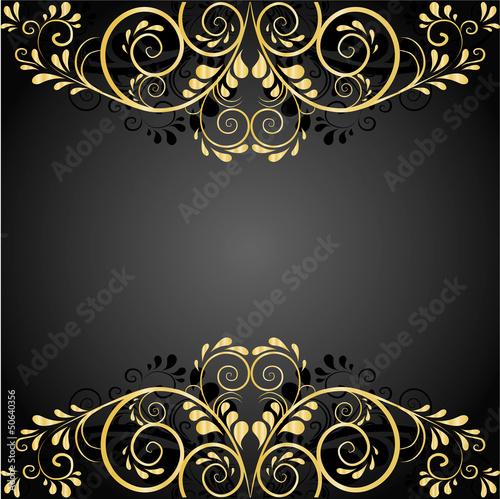 edler hintergrund aus gold und schwarz von lienchen020 2 lizenzfreier vektor 50640356 auf. Black Bedroom Furniture Sets. Home Design Ideas