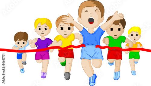 Läufer  GamesAgeddon - Läufer auf dem Weg ins Ziel - Lizenzfreie Fotos ...