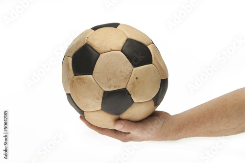 keep  hand on the ball