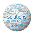 SOLUTIONS Tag Cloud (ideas creativity innovation business)