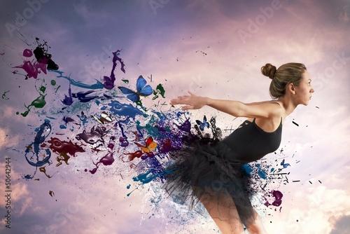 Fototapeten,kunst,künstlerbedarf,ballerina,schönheit