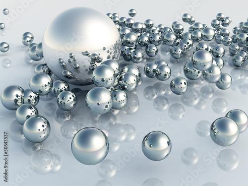 Leinwandbild Motiv 3D Pearl