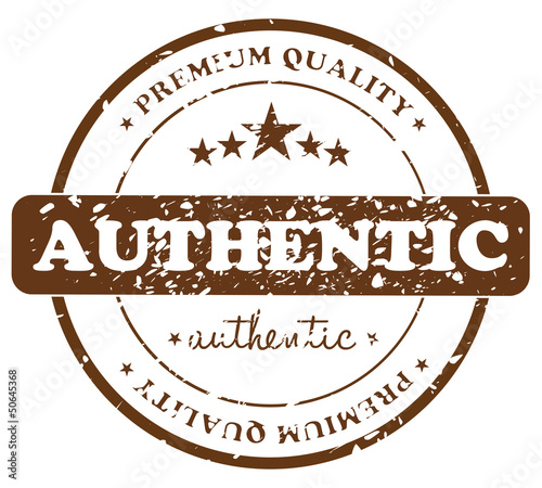 Authentic Product Stamp Badge