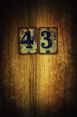 room 43 and a half