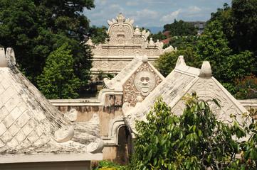 Il tempio di Taman Sari a Yogyakarta in Indonesia