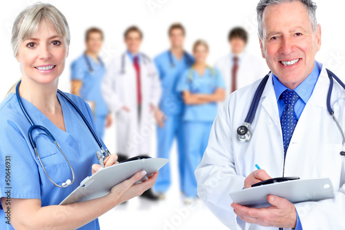 Group of medical doctor.