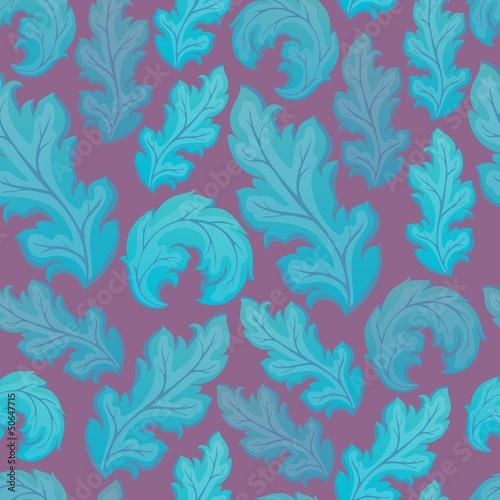 Leafy seamless background 2