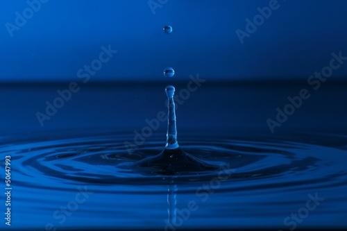 Splash water drop © demartis