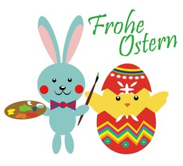 Frohe Ostern - easter