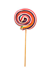 Lollipop on white