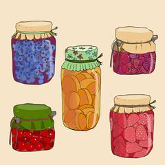Marmalade set.