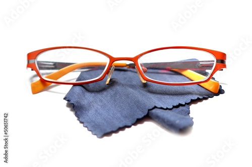 Eyeglasses glasses isolated on white background