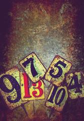 grunge metal numbers