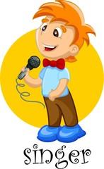 Певица мультфильм характер