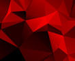 Black Red geometric background with gradients lines