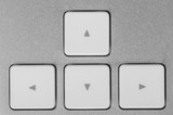 Control buttons - forward, backward, right, left.