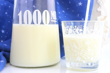 1000ml. of milk