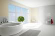 Bathroom in sunshine