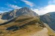 Corno Grande Gran Sasso high trail L'Aquila Italy