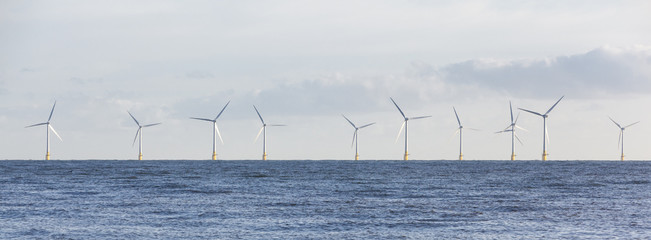 Panoramic Off Shore Wind Farm