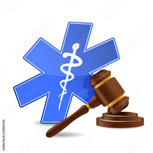 medical and gavel