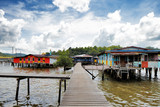 Brunei's famed water village