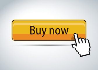 Buy now button with hand cursor over it