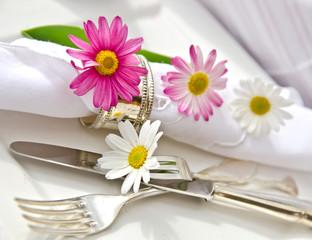 Gedeck für Verliebte zu Valentinstag, Geburtstag, Verlobung ...