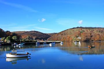 River Looe in autumn