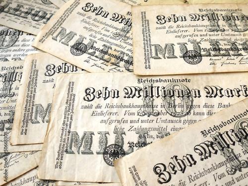 Немецкие деньги 1923 года