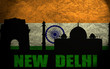View of New Delhi