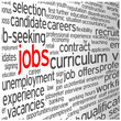 JOBS Tag Cloud (vacancies careers cv offers search hiring)