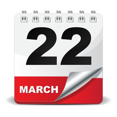 22 MARCH ICON
