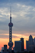 Shanghai morning sunrise