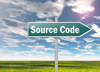 "Signpost ""Source Code"""
