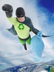 Eco superhero