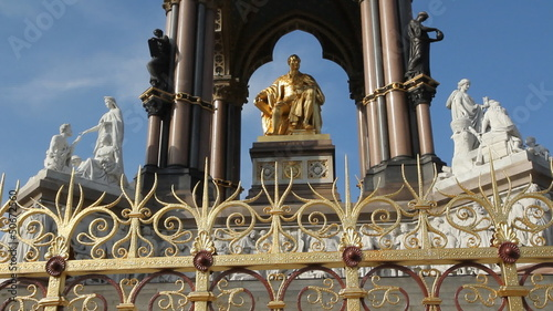 Albert Memorial. Two shots.